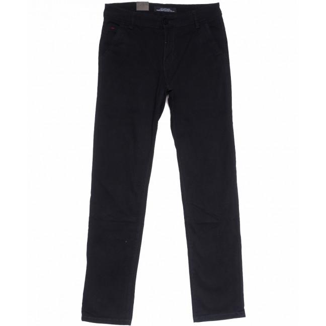 3015 LS брюки мужские черные весенние стрейчевые (29-38, 8 ед.) LS: артикул 1105323