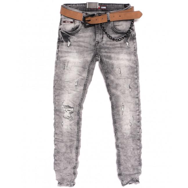 6961 Ritter джинсы мужские стильные серые весенние стрейчевые (29-36, 7 ед.) Ritter: артикул 1105613