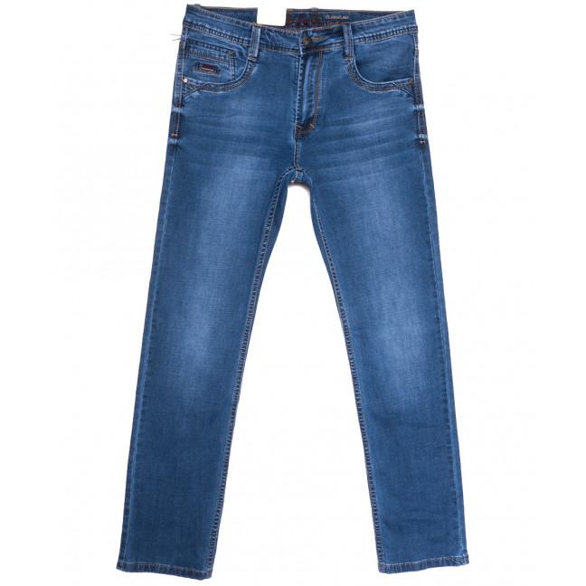 9386 Baron джинсы мужские полубатальные синие весенние стрейчевые (32-42, 8 ед.) Baron: артикул 1105725