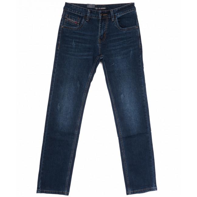 1050 LS джинсы мужские с царапкой синие весенние стрейчевые (29-38, 8 ед.) LS: артикул 1105285