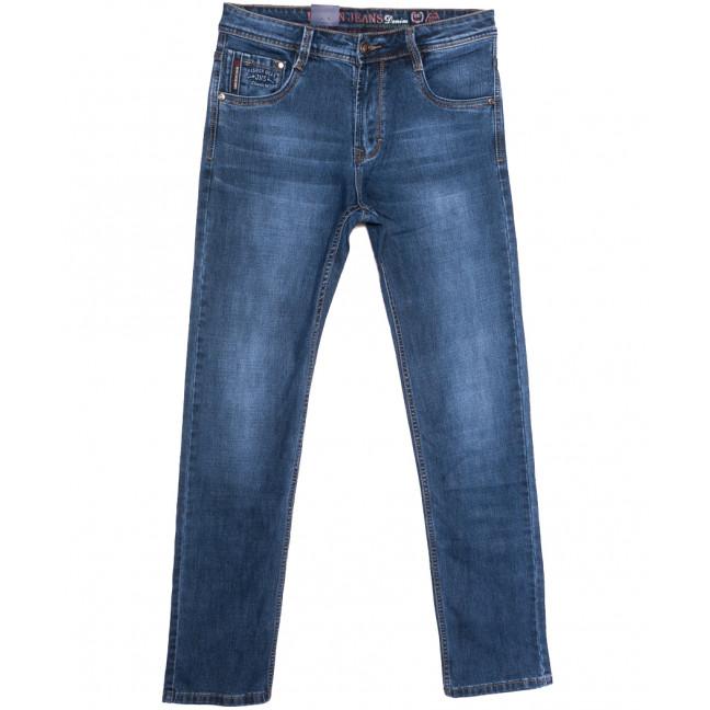 9323 Baron джинсы мужские полубатальные синие весенние стрейчевые (32-40, 8 ед.) Baron: артикул 1105722