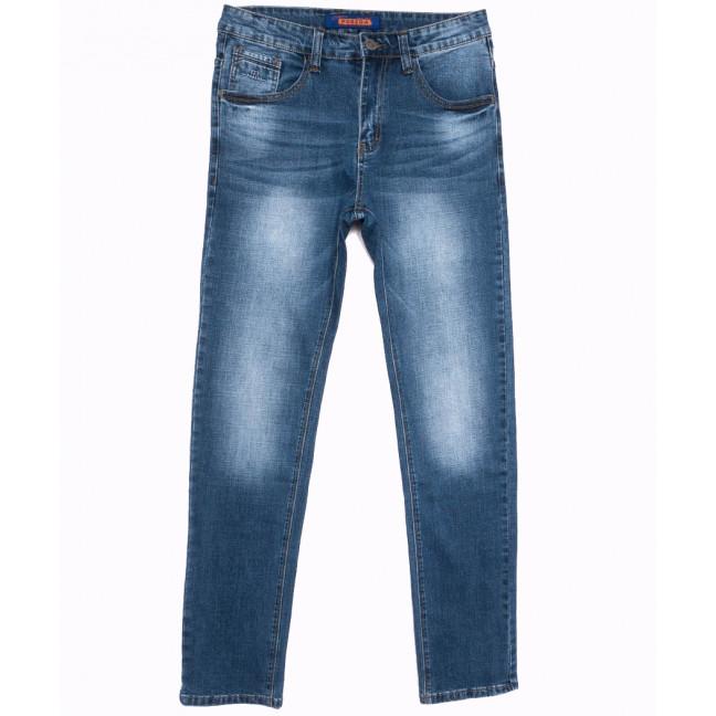 8026 Pobeda джинсы мужские полубатальные синие весенние стрейчевые (32-38, 8 ед.) Pobeda Denim: артикул 1105089