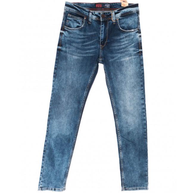 6150 Fashion red джинсы мужские синие весенние стрейчевые (29-36, 8 ед.) Fashion Red: артикул 1104998