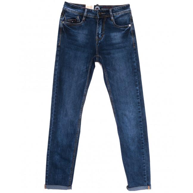 9356 Baron джинсы мужские молодежные синие весенние стрейчевые (27-34, 8 ед.) Baron: артикул 1105731
