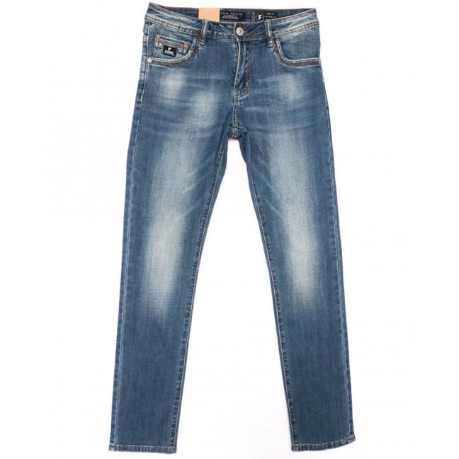 2218 Fang джинсы мужские синие весенние стрейчевые (29-36, 8 ед.) Fang: артикул 1104522