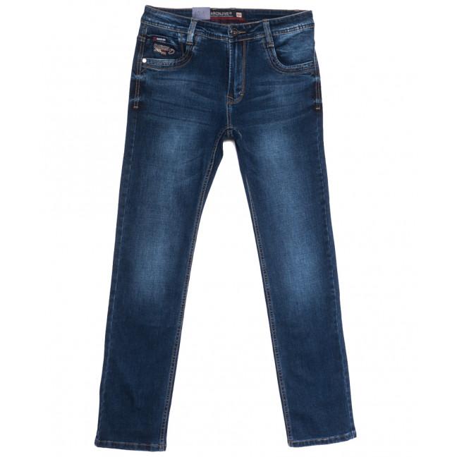9329 Baron джинсы мужские полубатальные синие весенние стрейчевые (32-38, 8 ед.) Baron: артикул 1105687