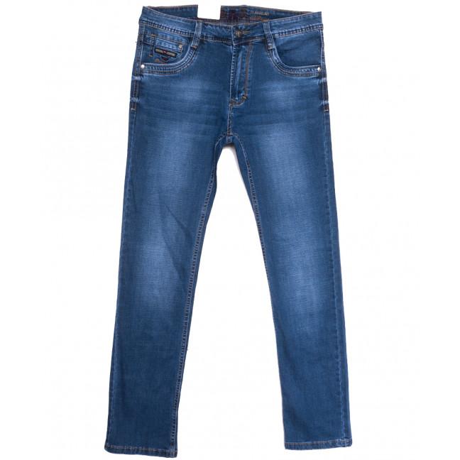 9388 Baron джинсы мужские полубатальные синие весенние стрейчевые (32-40, 8 ед.) Baron: артикул 1105721