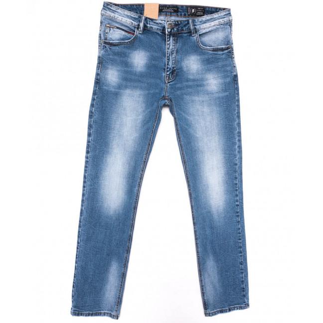 2207 Fang джинсы мужские синие весенние стрейчевые (30-38, 8 ед.) Fang: артикул 1104524