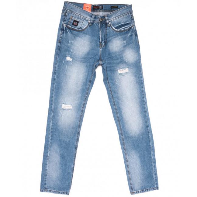8801-3 R Relucky джинсы мужские молодежные синие весенние стрейчевые (28-36, 8 ед.) Relucky: артикул 1104334