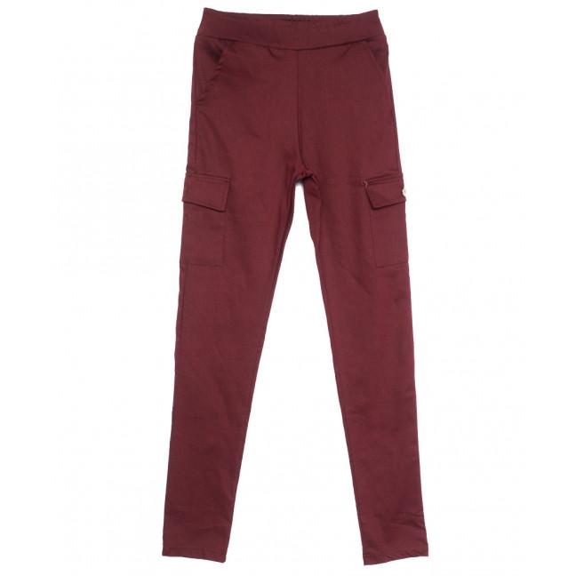 0411 Bikelife брюки карго женские красные весенние стрейчевые (S-XL, 4 ед.) Bikelife: артикул 1105669