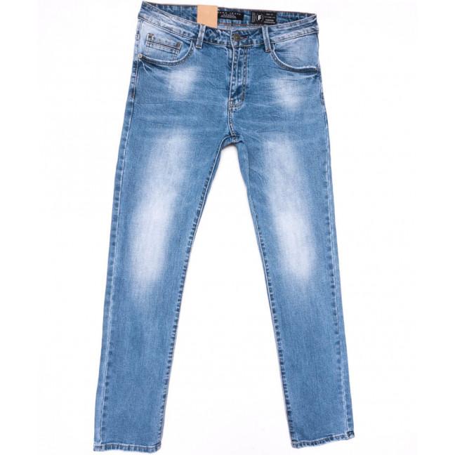 2210 Fang джинсы мужские полубатальные синие весенние стрейчевые (32-40, 8 ед.) Fang: артикул 1104518