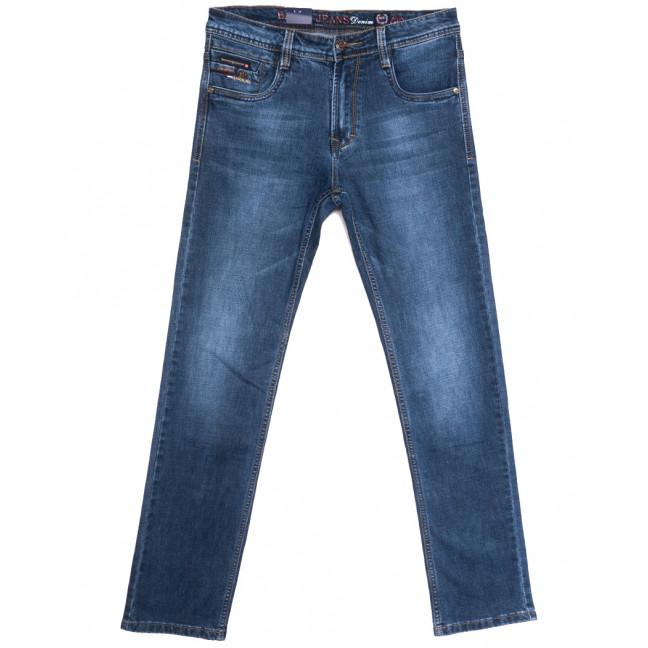 9319 Baron джинсы мужские полубатальные синие весенние стрейчевые (32-42, 8 ед.) Baron: артикул 1105724