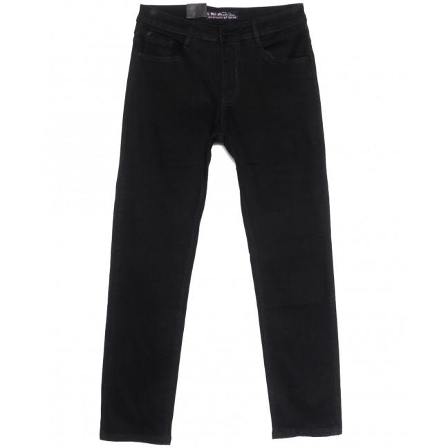 0212 G-Max джинсы мужские полубатальные черные весенние стрейчевые (32-42, 8 ед.) G-Max: артикул 1105714
