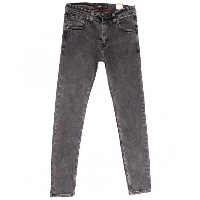 6717 Destry джинсы мужские полубатальные серые весенние стрейчевые (32-40, 8 ед.) Destry: артикул 1105535