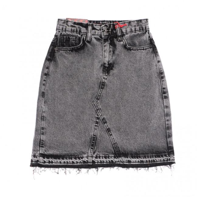 0786 Redmoon юбка джинсовая серая весенняя коттоновая (25-30, 6 ед.) REDMOON: артикул 1106320