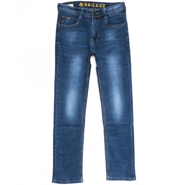 7895-03 Regass джинсы мужские синие весенние стрейчевые (30-38, 8 ед.) Regass: артикул 1106076