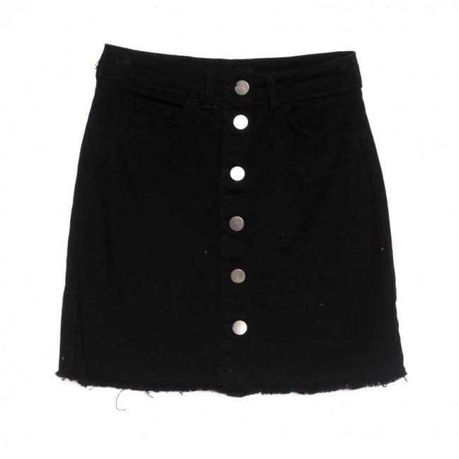 1982 Defile юбка джинсовая черная весенняя коттоновая (34-40,норма, 6 ед.) Defile: артикул 1106920