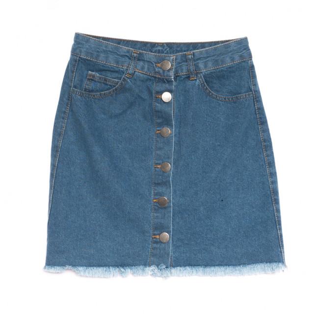 1800 синяя Defile юбка джинсовая весенняя коттоновая (34-42,евро, 6 ед.) Defile: артикул 1107121