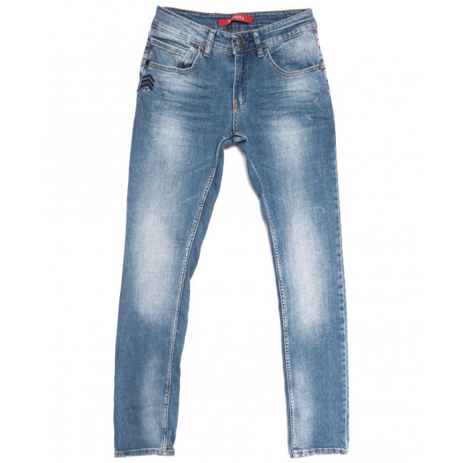0310 Blue Brown Sparta джинсы мужские молодежные синие весенние стрейчевые (28-34, 7 ед.) Sparta: артикул 1105833