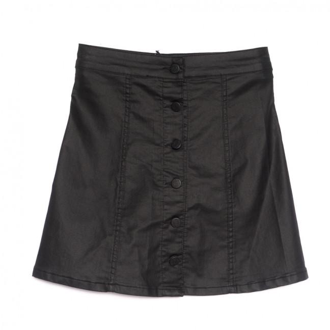 3023 Miele юбка из эко-кожи черная весенняя стрейчевая (34-40,евро, 5 ед.) Miele: артикул 1106931