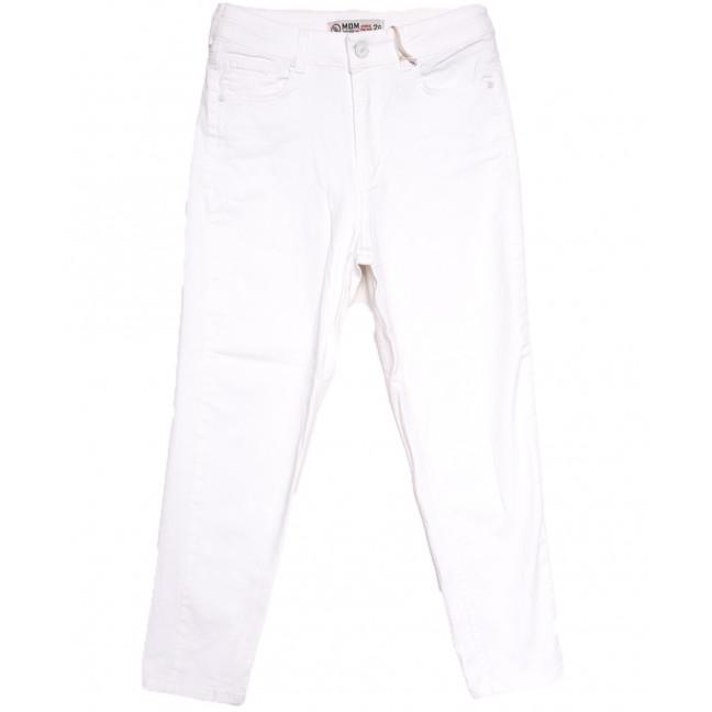 0904 MJS мом белый весенний стрейчевый (26-31, 8 ед.) MJS: артикул 1106725