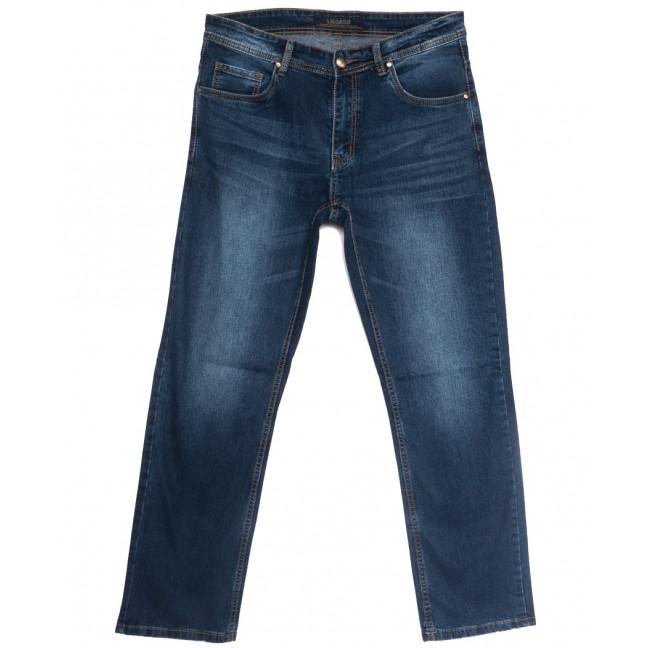 0538-43-А Likgass джинсы мужские полубатальные синие весенние стрейчевые (32-40, 7 ед.) Likgass: артикул 1106601