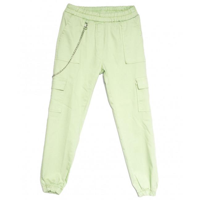 1790 салатовые Defile брюки карго женские весенние стрейчевые (S-XL, 4 ед.) Defile: артикул 1107104