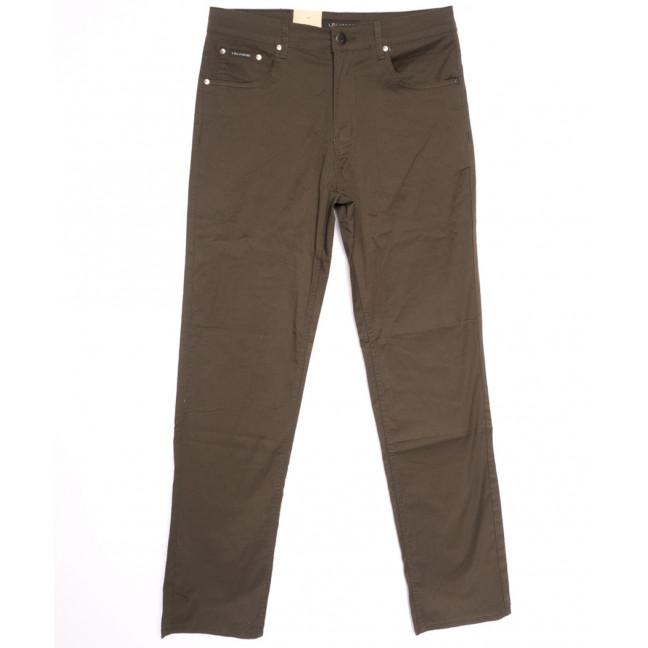 9023-D LS джинсы мужские батальные хаки весенние стрейчевые (34-44, 8 ед.) LS: артикул 1106352
