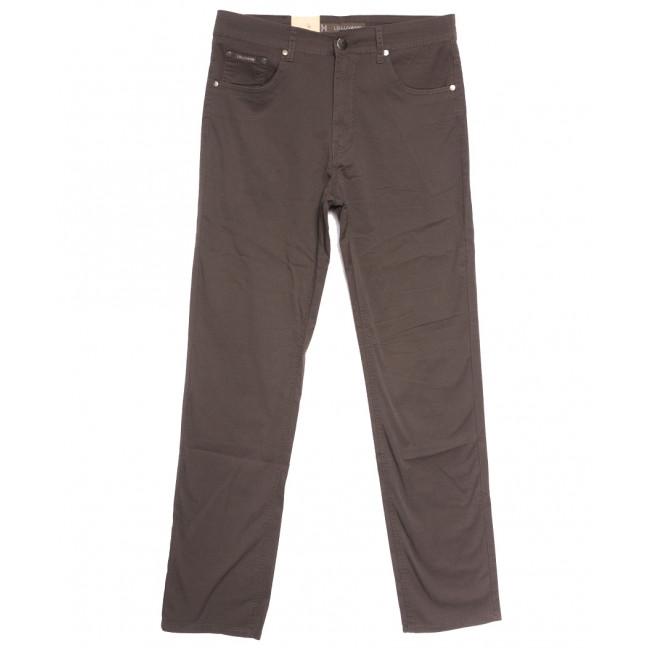 9015-D LS джинсы мужские батальные коричневые весенние стрейчевые (34-44, 8 ед.) LS: артикул 1106351