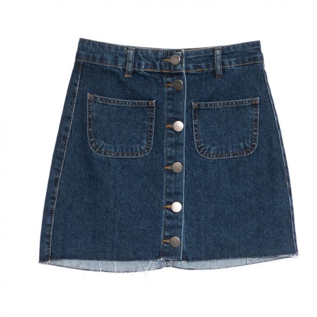 1802 Defile юбка джинсовая синяя весенняя коттоновая (34-42,евро, 6 ед.) Defile: артикул 1107126