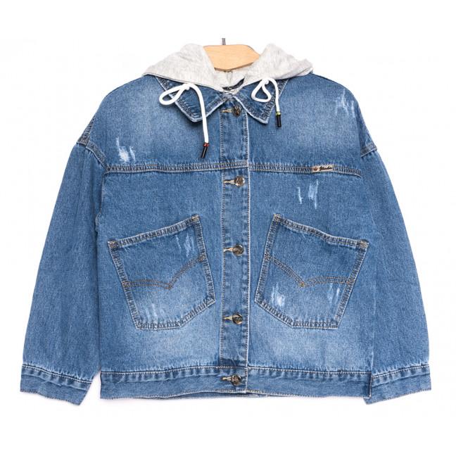 9931 Zijinyan куртка джинсовая женская синяя весенняя коттоновая (S-XXXL, 6 ед.) Zijinyan: артикул 1106377