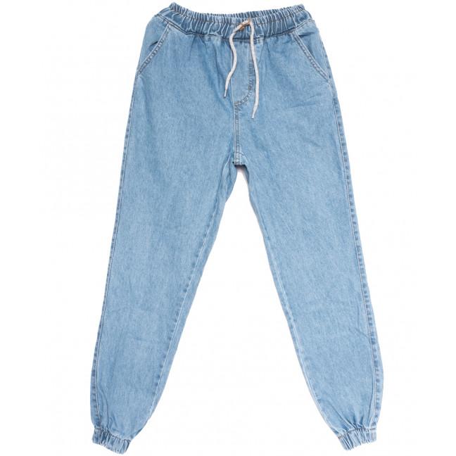0114 Groff джинсы женские на резинке синие весенние коттоновые (27-30, 6 ед.) Groff: артикул 1105769