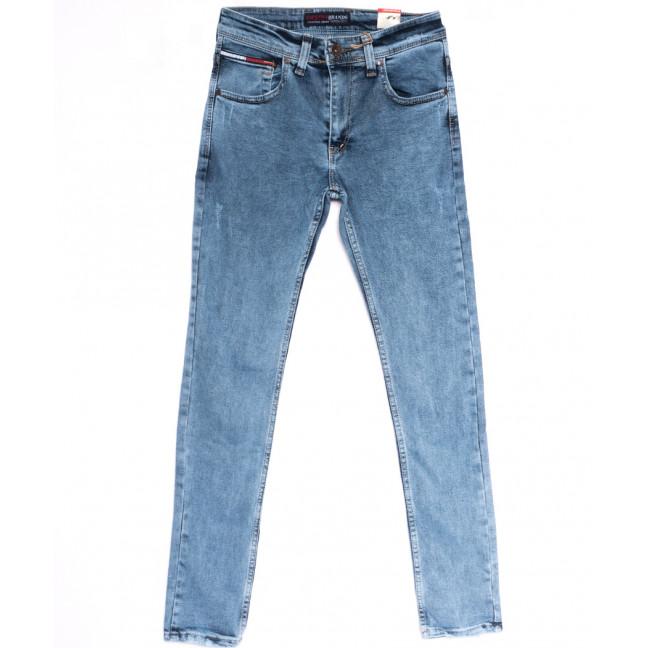 6817 Destry джинсы мужские с царапками синие весенние стрейчевые (29-36, 8 ед.) Destry: артикул 1106652