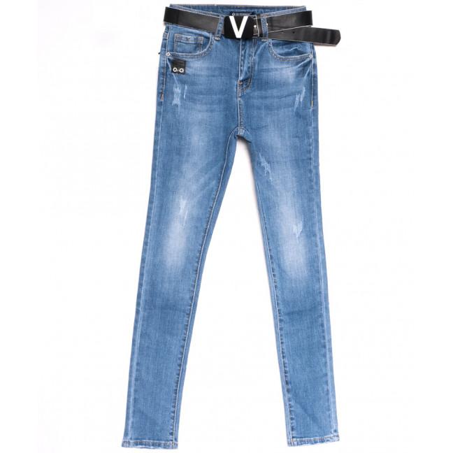 9509 LDM джинсы женские синие весенние стрейчевые (25-30, 6 ед.) LDM: артикул 1106389