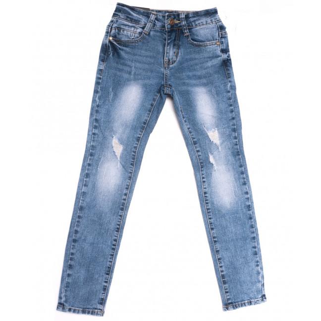 0103 Little Star джинсы на девочку синие весенние стрейчевые (20-25, 6 ед.) Little Star: артикул 1107022