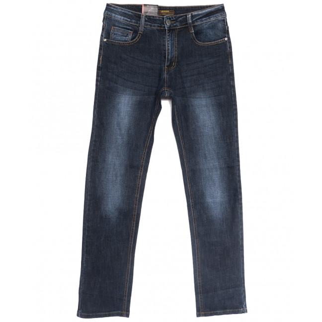 0712-А Likgass джинсы мужские темно-синие весенние стрейчевые (30-38, 8 ед.) Likgass: артикул 1106614