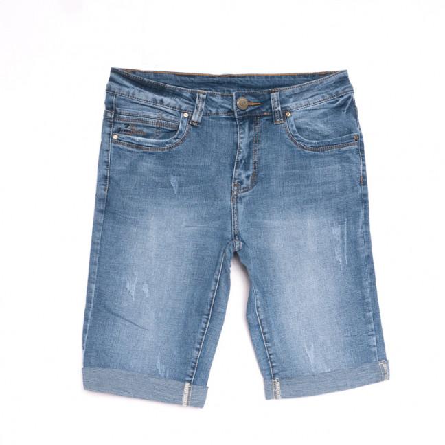 2058 New Jeans шорты джинсовые мужские синие стрейчевые (29-38, 8 ед.) New Jeans: артикул 1107057