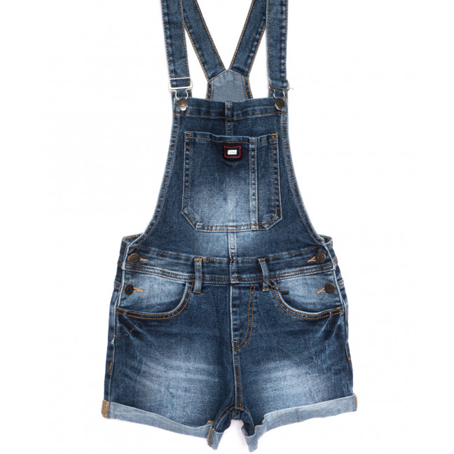 6611-2 Y Relucky сарафан джинсовый с царапками синий весенний стрейчевый (25-30, 6 ед.) Relucky: артикул 1106112