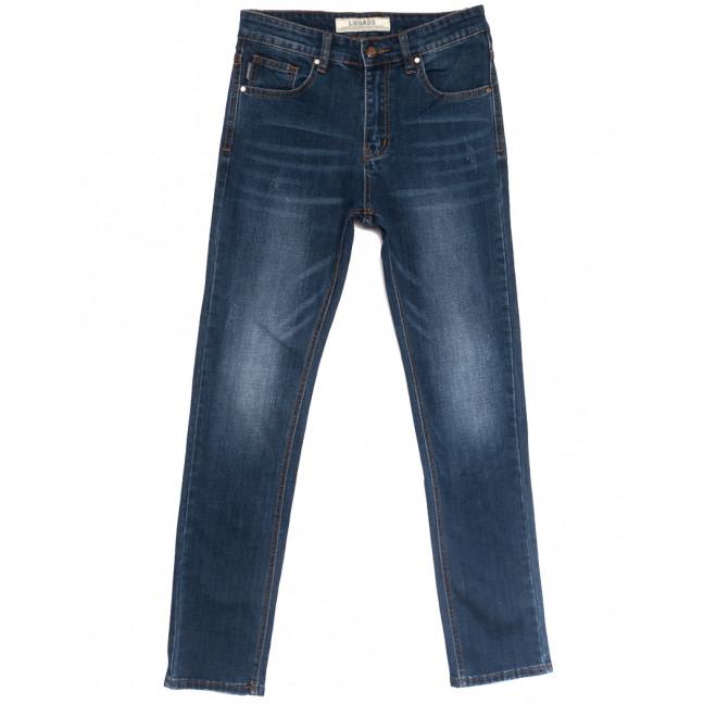0651-В Likgass джинсы мужские молодежные с царапками синие весенние стрейчевые (28-36, 8 ед.) Likgass: артикул 1106619