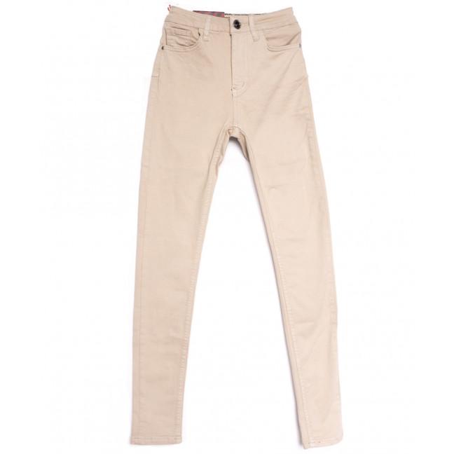 0761 бежевые Redmoon джинсы женские весенние стрейчевые (25-30, 6  ед.) REDMOON: артикул 1106955
