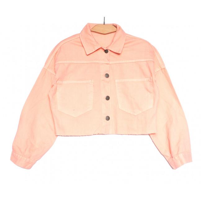 1793 пудра Defile куртка джинсовая женская весенняя коттоновая (S-XL, 5 ед.) Defile: артикул 1107111