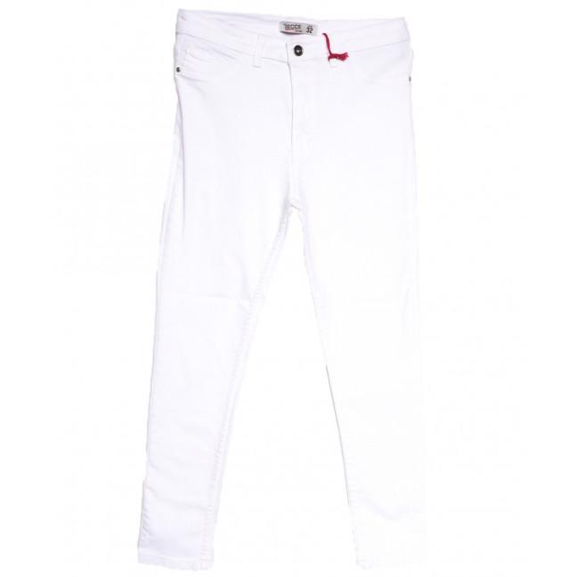 2006 Gecce джинсы женские батальные белые весенние стрейчевые (32-40, 6 ед.) Gecce: артикул 1106723