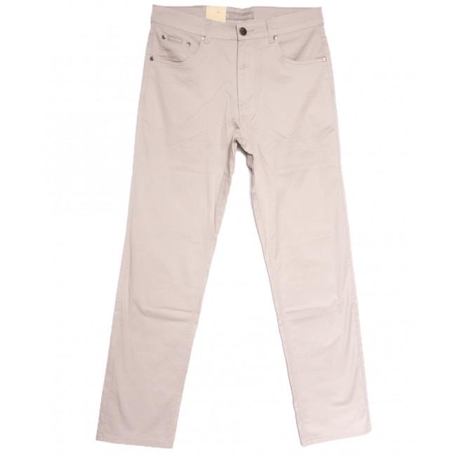 9018-D LS джинсы мужские батальные бежевые весенние стрейчевые (34-44, 8 ед.) LS: артикул 1106403