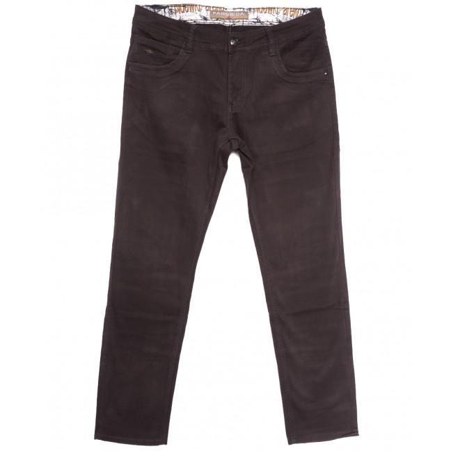2144 Fangsida джинсы мужские полубатальные коричневые весенние стрейчевые (32-38, 8 ед.) Fangsida: артикул 1106203