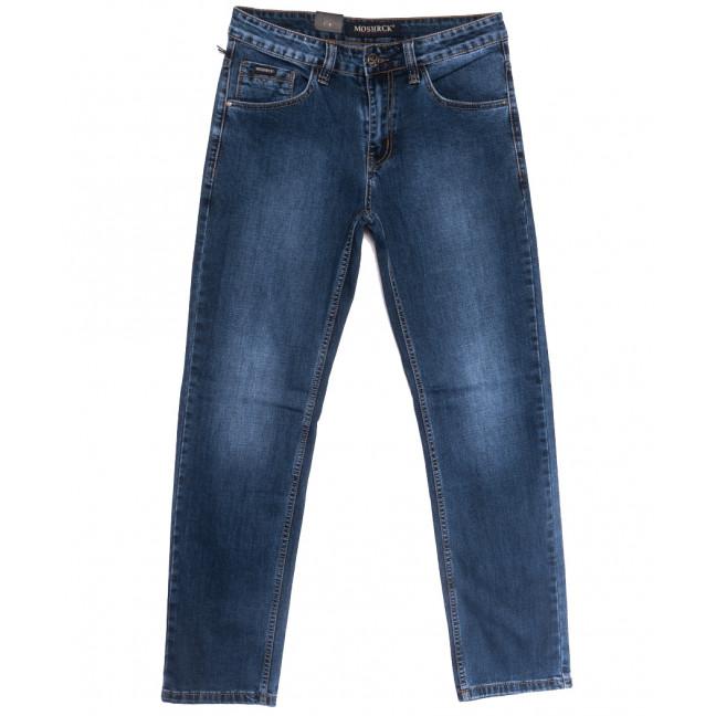 59939 Moshrck джинсы мужские полубатальные синие весенние стрейчевые (32-38, 8 ед.) Moshrck: артикул 1106599