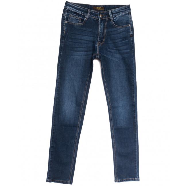 0716-А Likgass джинсы мужские молодежные синие весенние стрейчевые (28-36, 8 ед.) Likgass: артикул 1106627