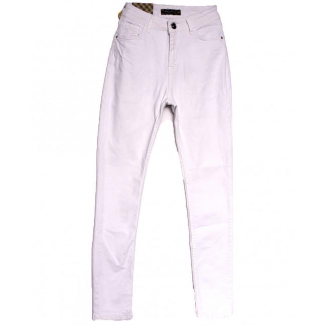 0789 белые Redmoon джинсы женские полубатальные весенние стрейчевые (29-36, 7 ед.) REDMOON: артикул 1106954