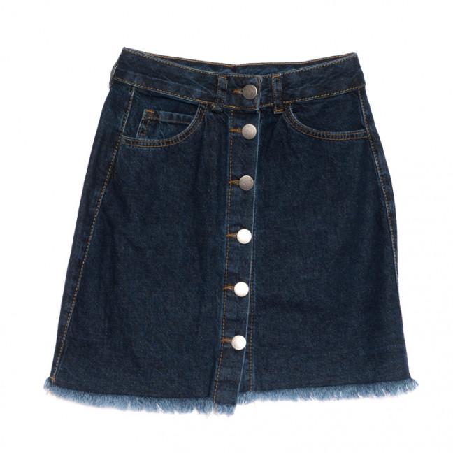 1800 темно-синяя Defile юбка джинсовая весенняя коттоновая (34-42,евро, 6 ед.) Defile: артикул 1107120