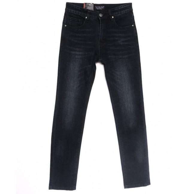 0640-А Likgass джинсы мужские молодежные черные весенние стрейчевые (28-36, 8 ед.) Likgass: артикул 1106608
