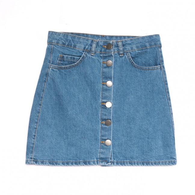 1798 синяя Defile юбка джинсовая весенняя коттоновая (34-42,евро, 6 ед.) Defile: артикул 1107116